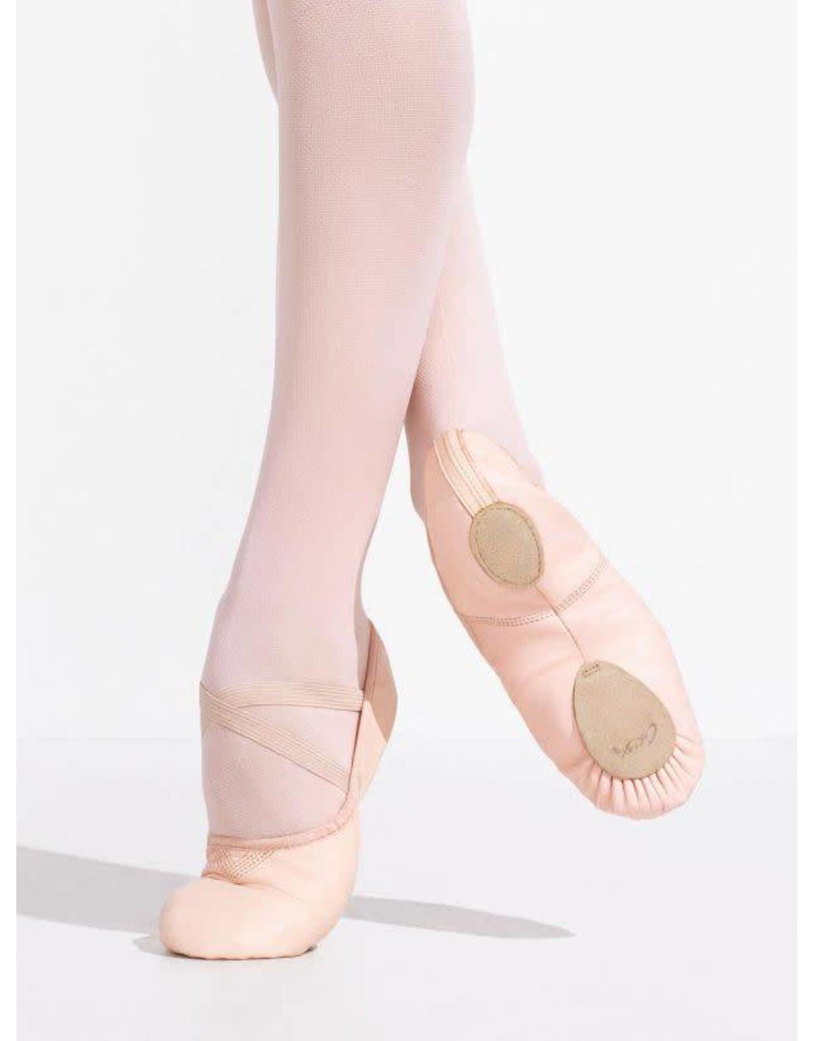 Capezio 2033 Leather Cobra Ballet slipper LIGHT PINK