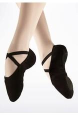 Capezio 2039 Pro Canvas S/sole slipper BLACK