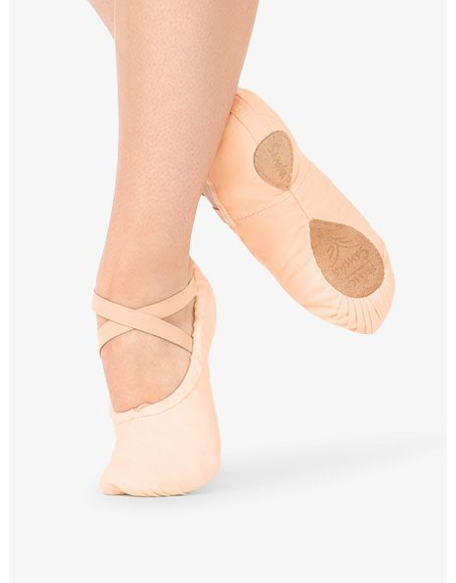 Capezio 2039 Pro Canvas S/sole slipper PINK