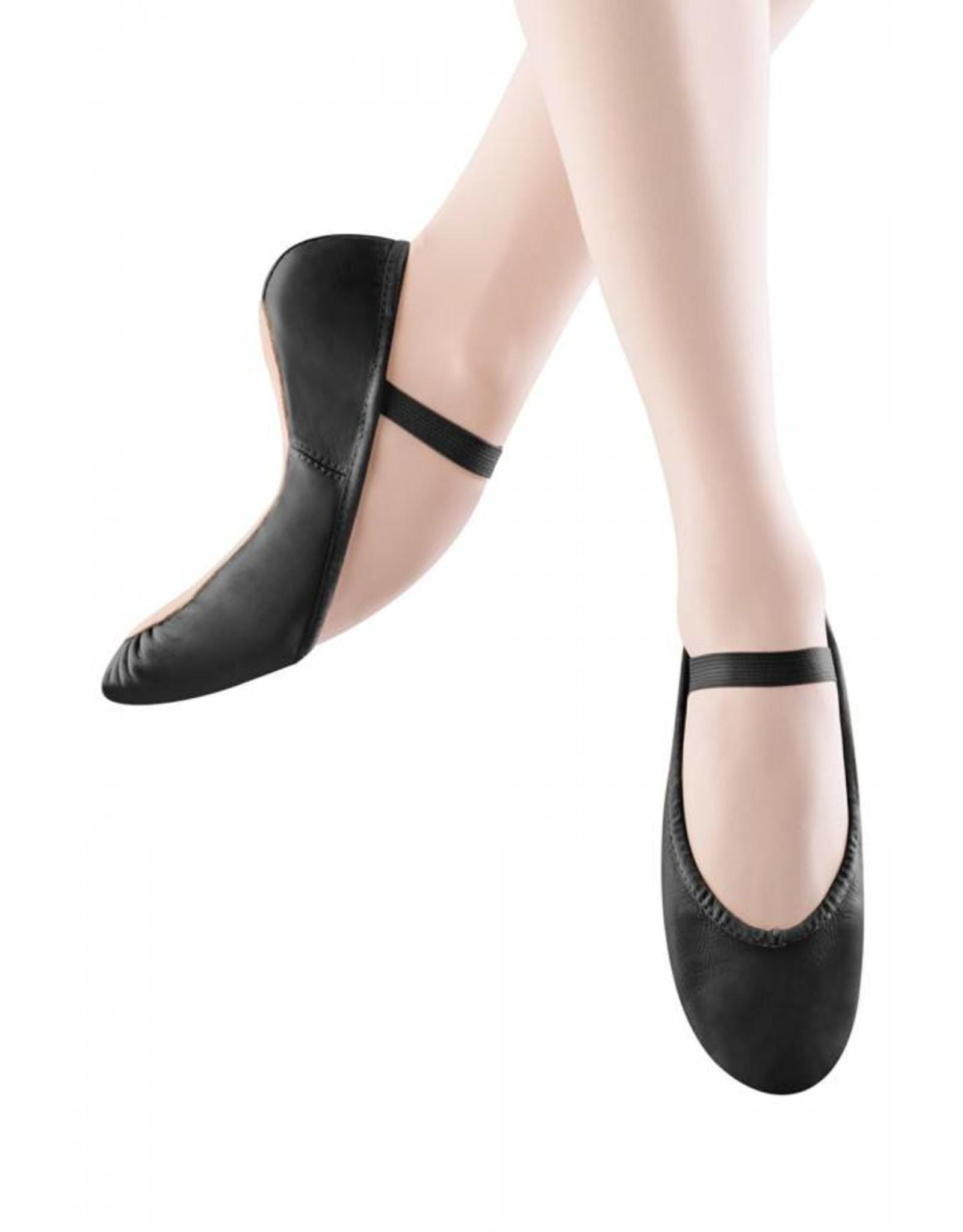 Bloch S0205 G Full sole Leather Ballet Shoe BLACK