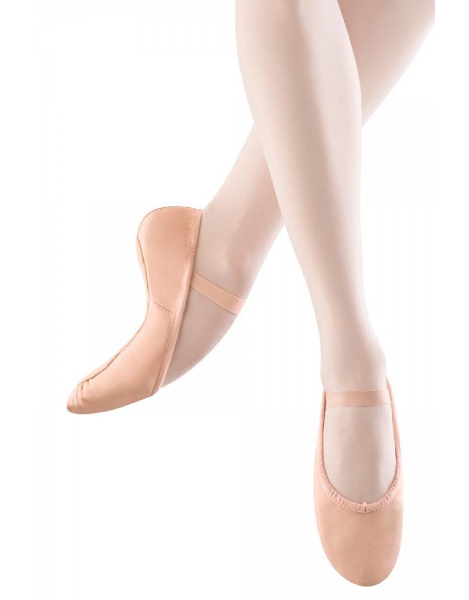 Bloch S0205 L Full sole Leather Ballet Shoe PINK