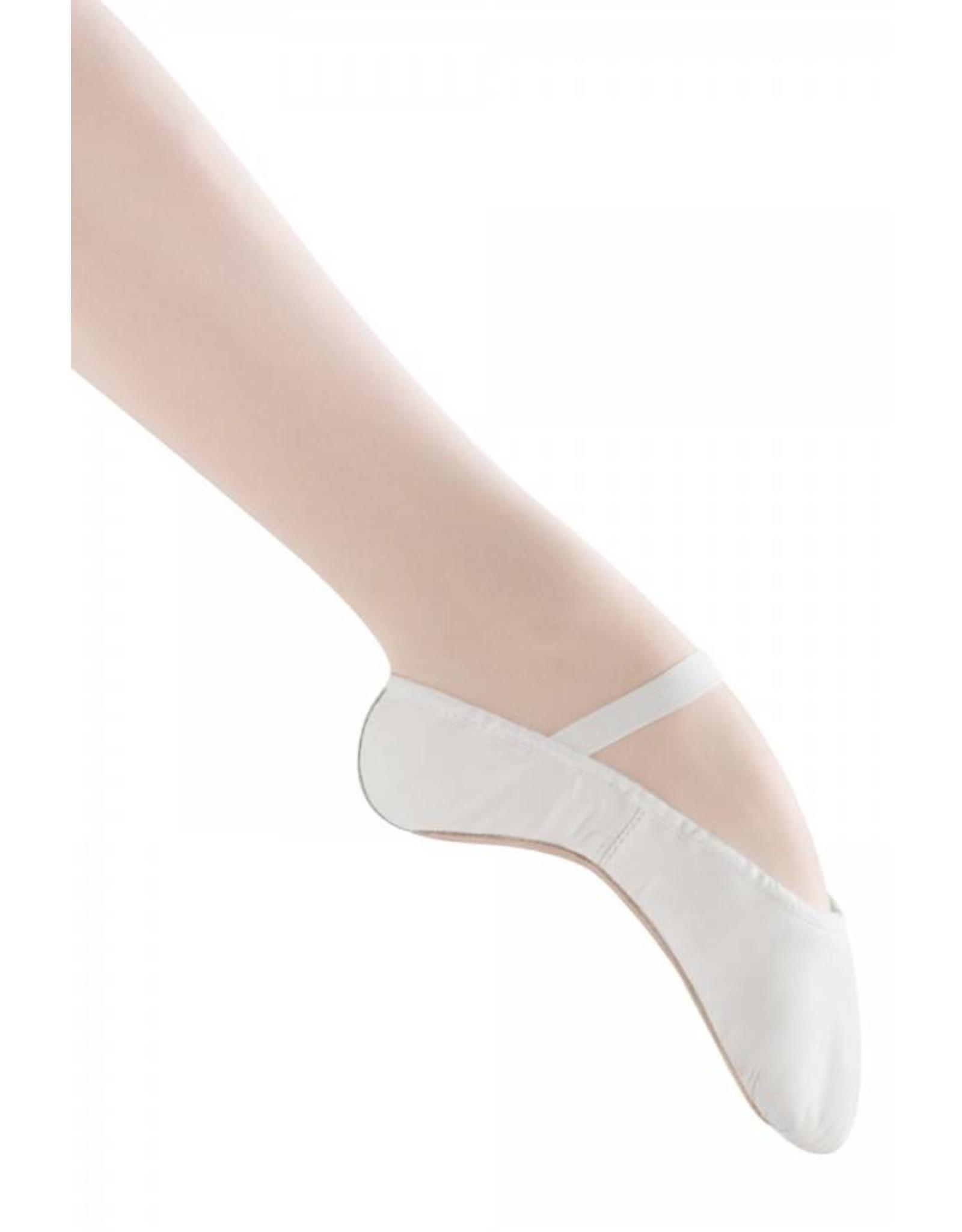 Bloch S0205G Full sole Leather Ballet Shoe WHITE