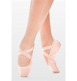 SoDanća SD110S Split Sole Leather Ballet Shoe W/O drawstring PINK 40