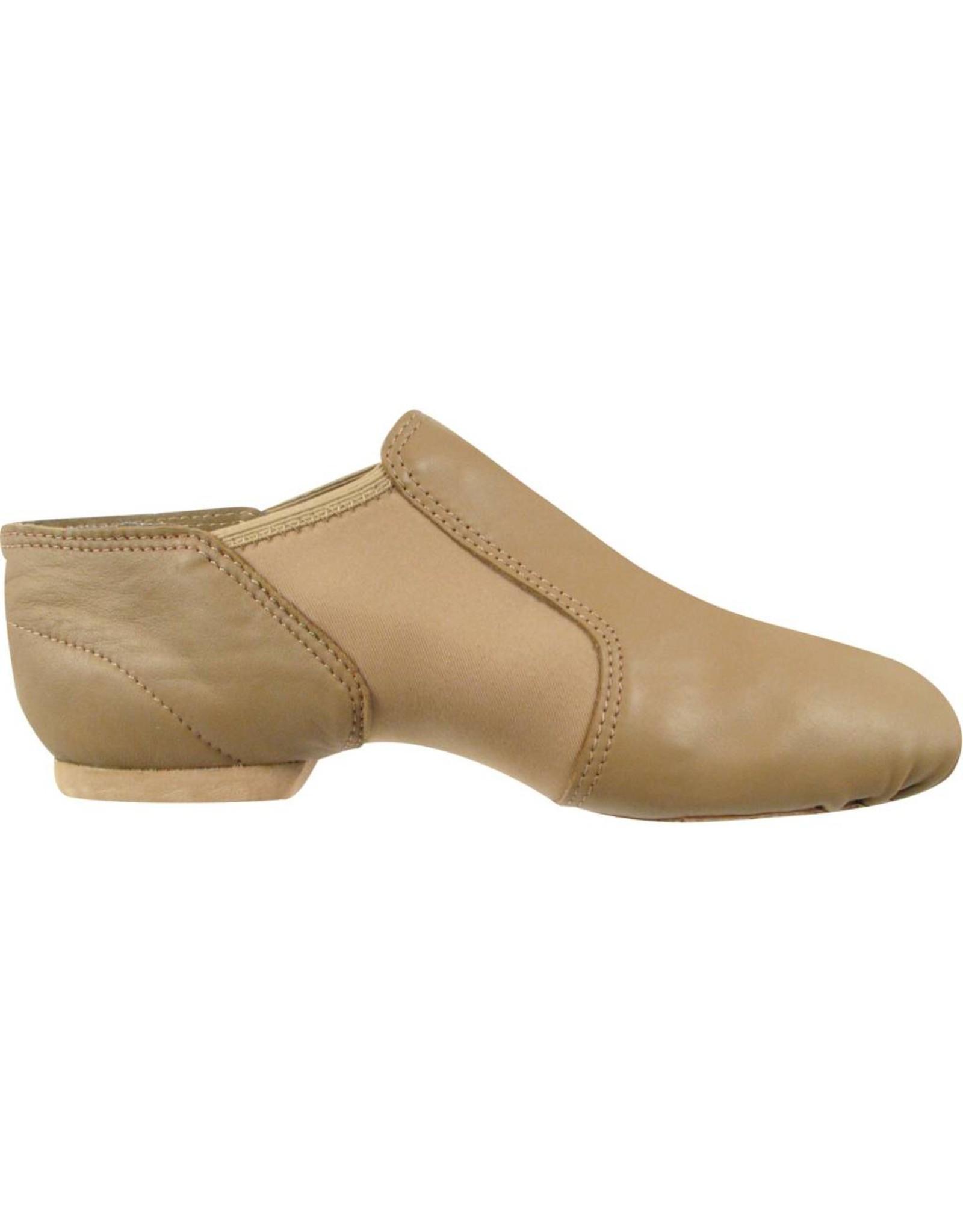 SoDanća JZ40 Low Split Sole Leather Jazz Boot  CARAMEL