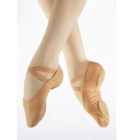 SoDanća SD16 Split Sole Canvas Ballet Shoe CARAMEL