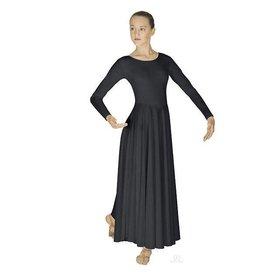 Eurotard 13524 Adult Dancer Dress  BLACK