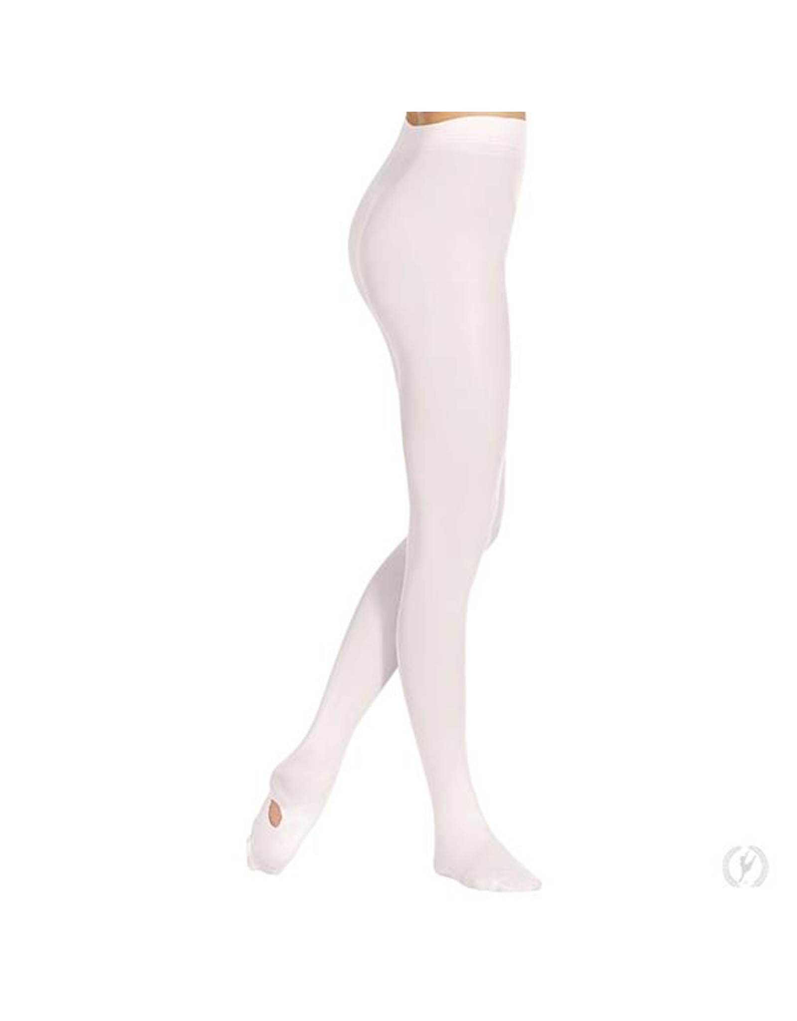 210 EuroSkins ADULT  Convertible Tights WHITE