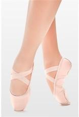SoDanća SD110L Split Sole Leather Ballet Shoe W/O drawstring  PINK 40