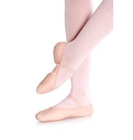SoDanća SD55S Full Sole Leather Ballet Shoe W/O drawstring PINK 40