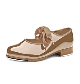 Bloch DN3720T Dance Now Student Tap Lace up  TAN
