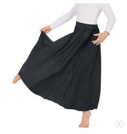 "Eurotard 13778c- Child 31"" Circle Skirt Black OSFA"