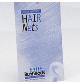 Bunheads BH423 HAIR NETS - DBR  ONE 3 per pack
