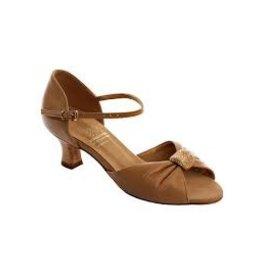 Bloch S0828SB Portia Ballroom Shoe DEEP TAN