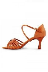 "Bloch S0839SB Rosalina 2.5 "" Ballroom Shoe DEEP TAN"
