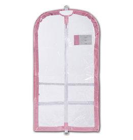 Danshuz B595 COMPETITION CLEAR PINK GARMENT BAG