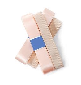 SoDanća AC07 Pointe Shoe Satin Ribbon & Elastic SET W/ PLATFORM COVERS