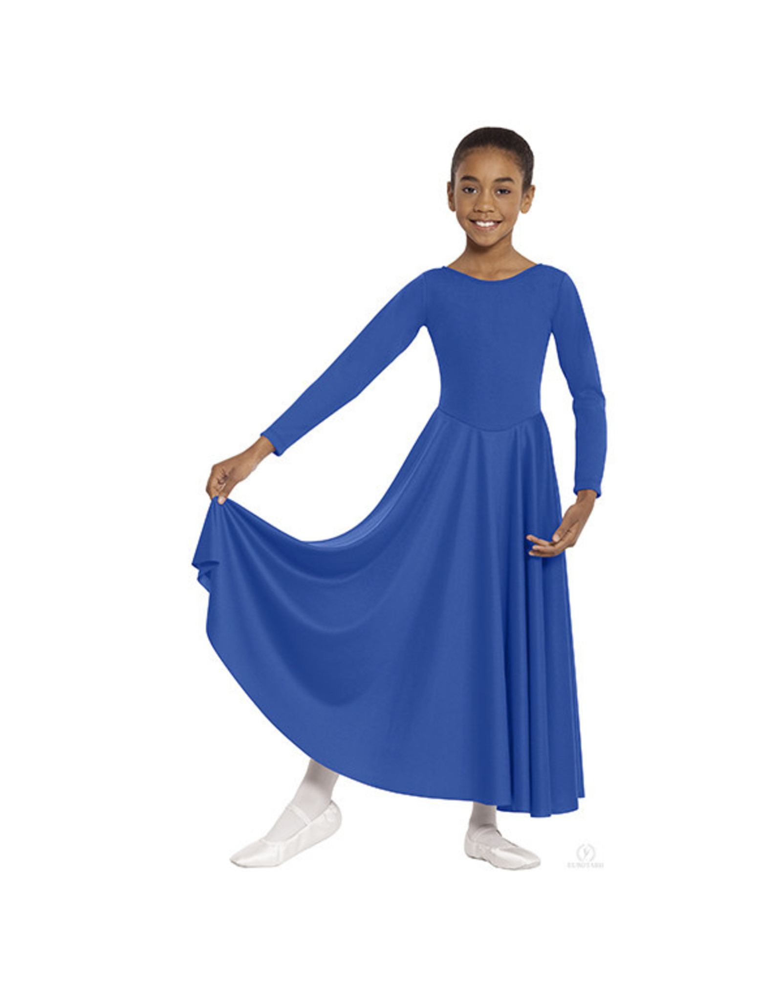 13524C CHILD LITURGICAL DRESS BLUE