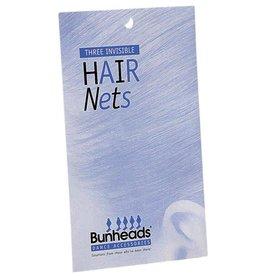 Bunheads BH420 BLD  HAIR NETS ONE 3 per pack