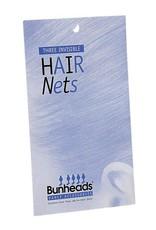 Bunheads BH421 LBR  HAIR NETS ONE 3 per pack