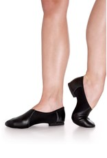Capezio EJ2 E Series Slip On Jazz Shoe  BLACK
