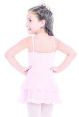 SoDanća L1963 CAMISOLE GIRL'S BLACK DRESS