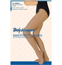A55 TOAST ULTIMATE SHIMMER FOOTED TIGHTS ADULT