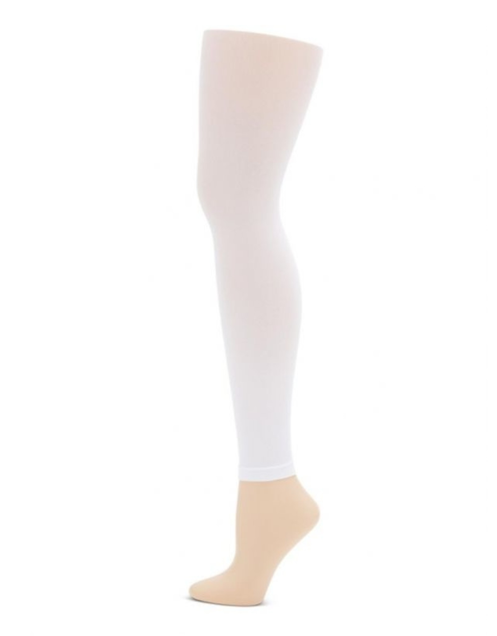 Capezio 1917 ADULT FOOTLESS TIGHT WHITE