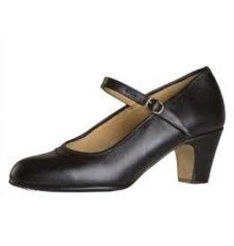 Capezio FLM10 Black Size 10W Flamenco Shoe