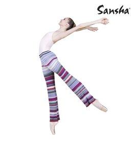 Sansha KC0101A Multicolor Wide Leg Warm Up Pants