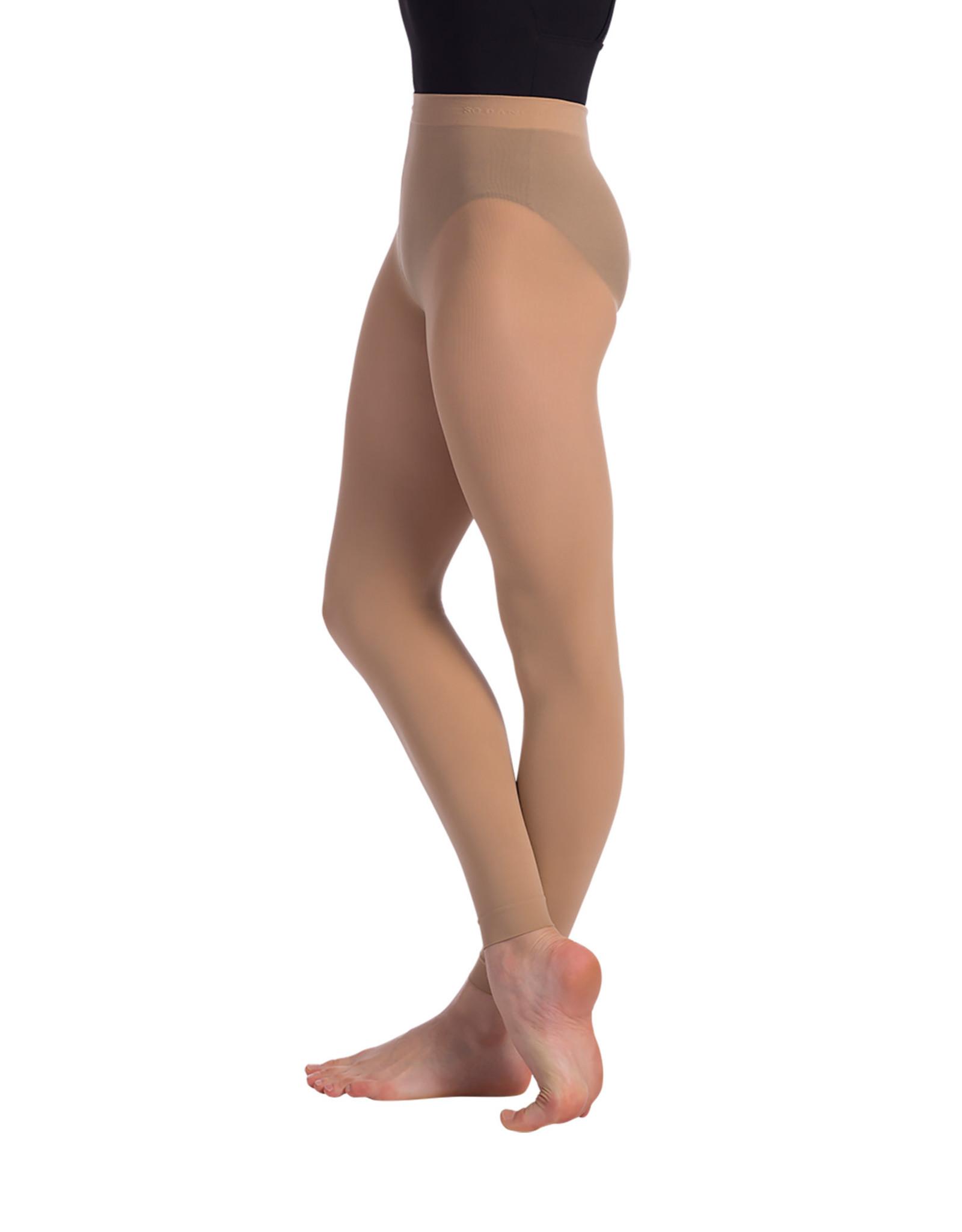 SoDanća TS70 Adult Footless Tights Mocha