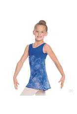Eurotard 04587CGIRL'S VINTAGE LACE TANK DANCE DRESS ROYAL