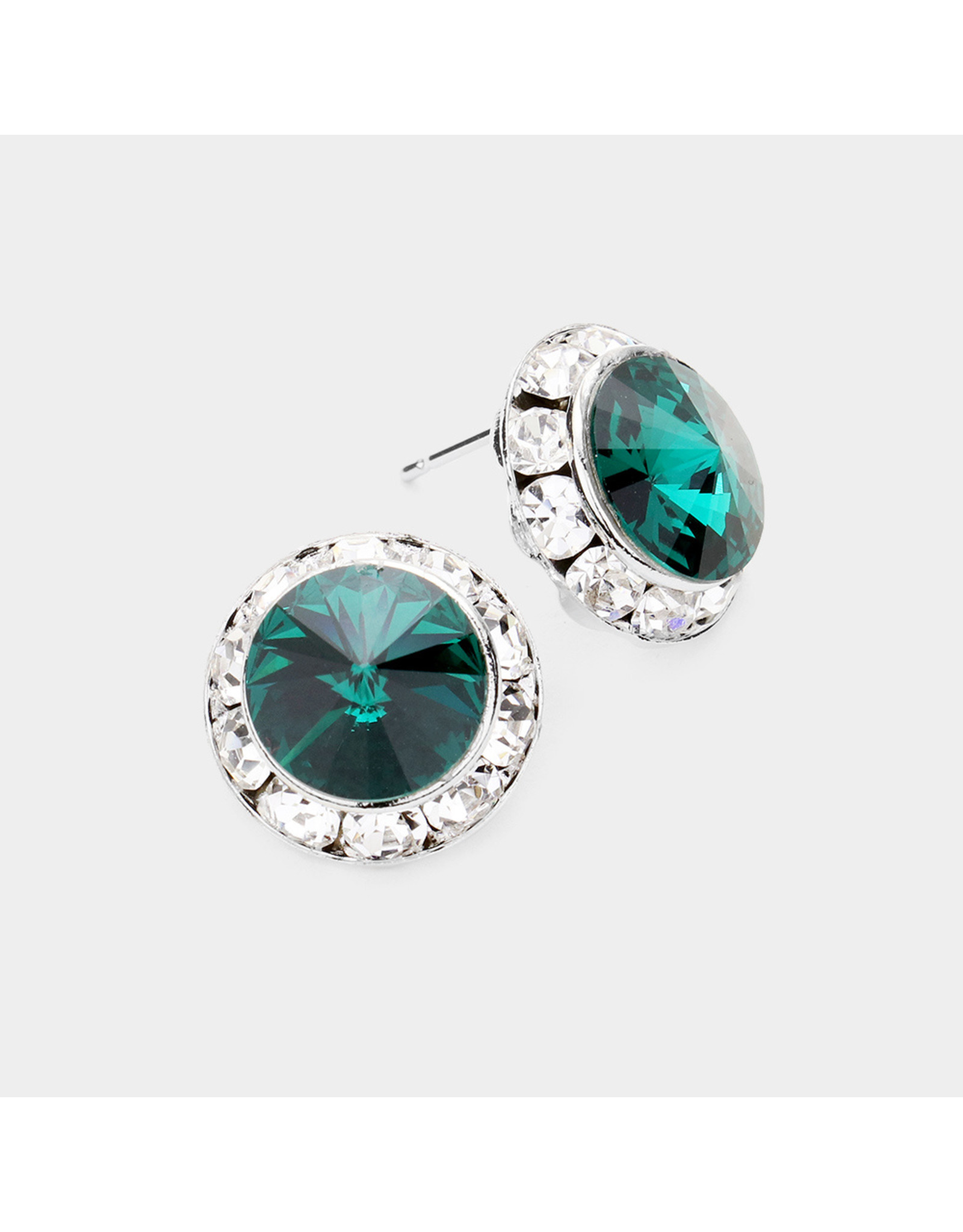 CRE1147 POST EARRINGS COLOR