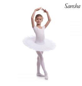 Sansha 8AG0006P Sansha White Tutu Size F- 10/12