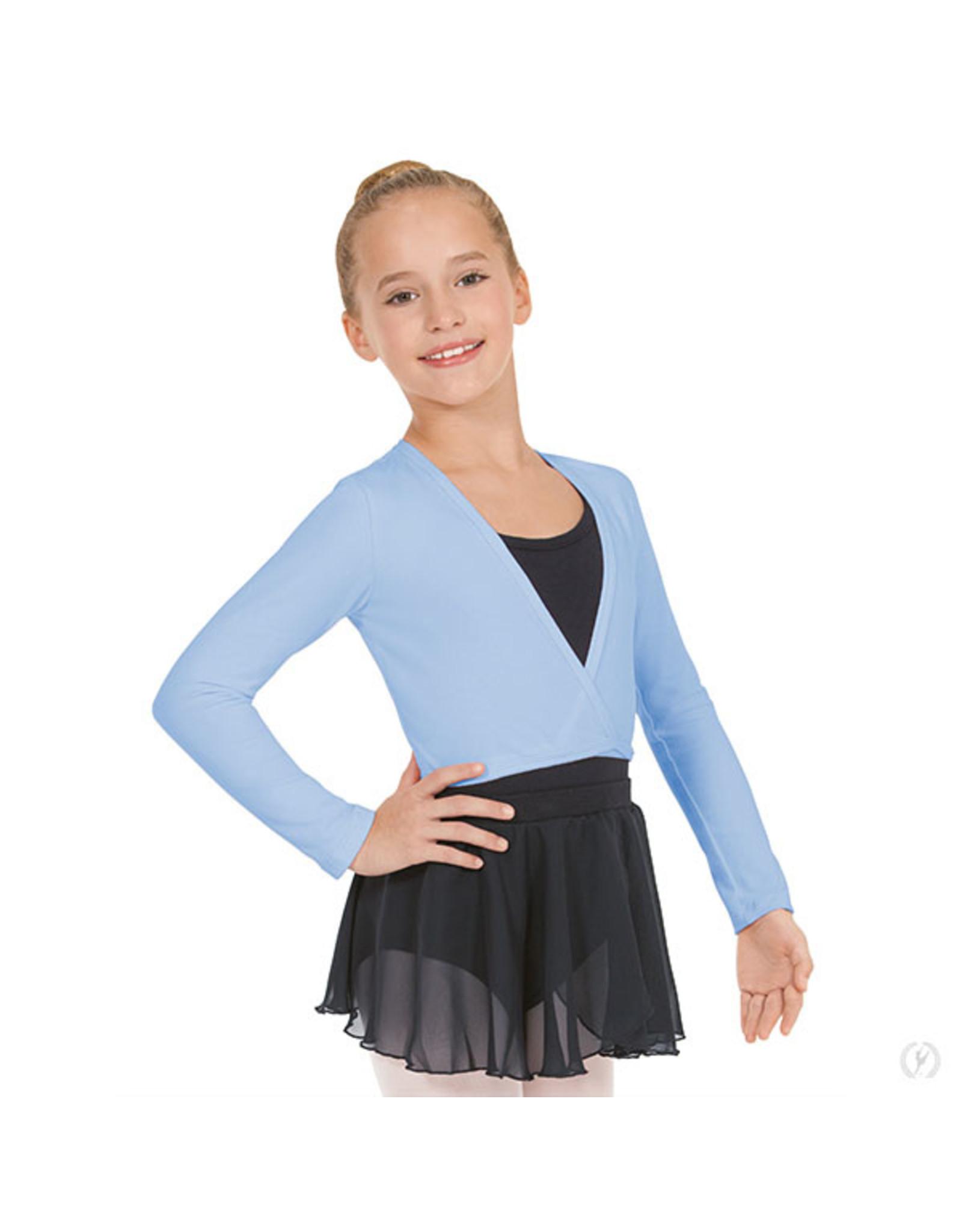 Eurotard 10523C  CHILD WRAP SWEATER BLUE