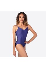 SoDanća SDE1806 ADULT CAMISOLE SHIMMER LEOTARD WITH PINCHED FRONT