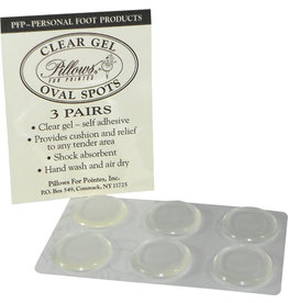 PILLOWS FOR POINTES PFP12 GEL OVAL SPOTS