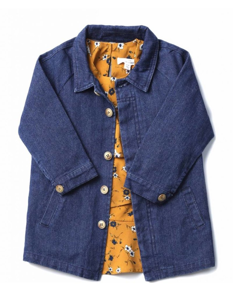 Mo:vint Long Denim Jacket