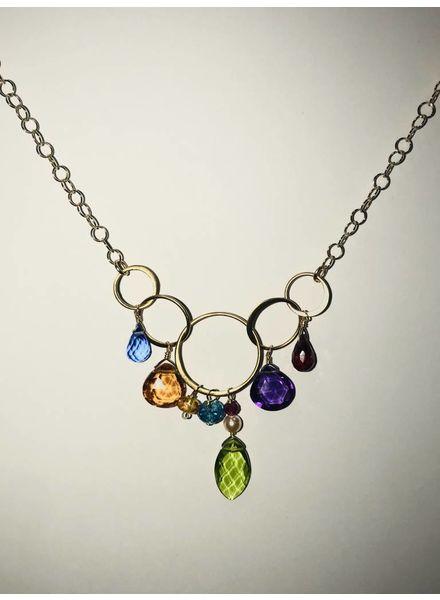Anna Balkan Jewelry AnnaB 5 Rings Gems NK