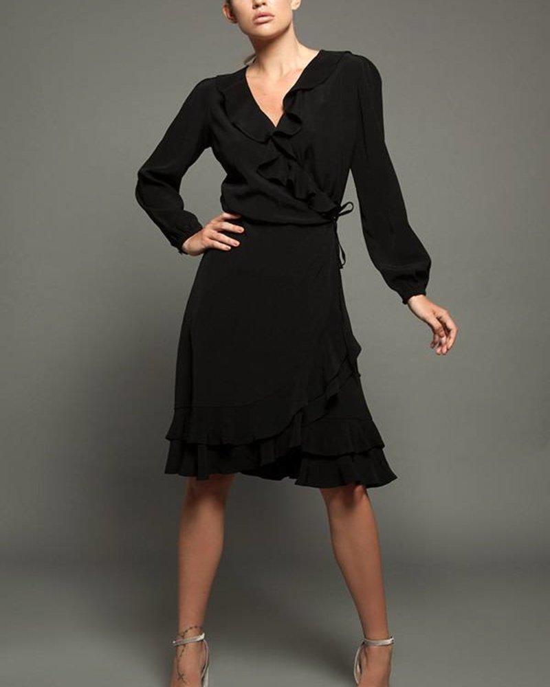 Fresha Wrap Dress Midi