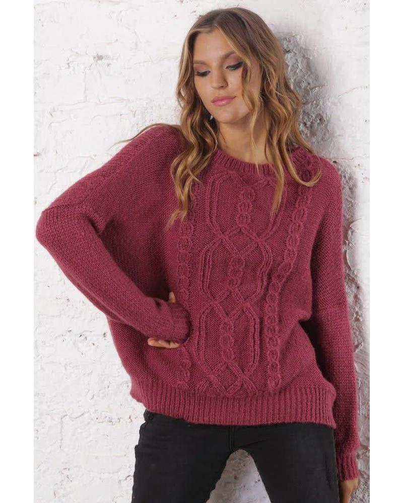 Wooden Ships WS Fisherman Cable Sweater