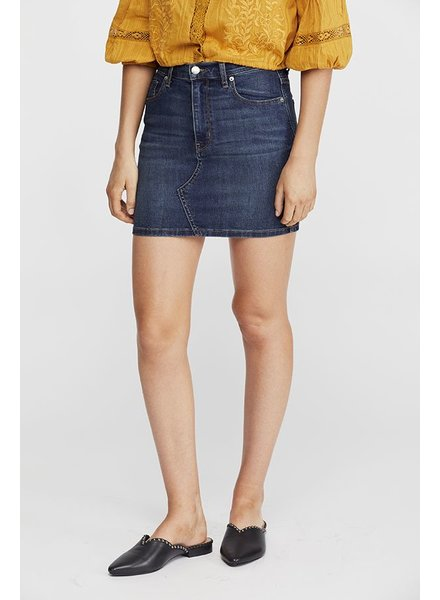 Free People Teagan Denim Skirt