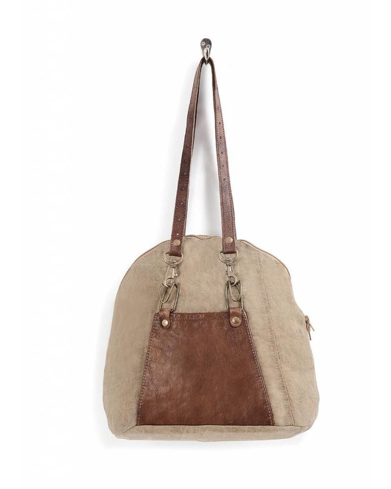 Mona B MonaB Bowling Shoulder Bag