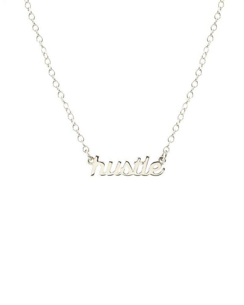 Kris Nations Kris Nations Hustle Script Necklace