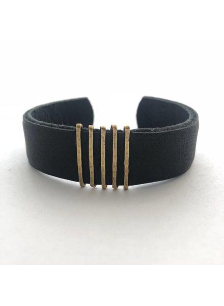 CLP Thin  Leather Cuff