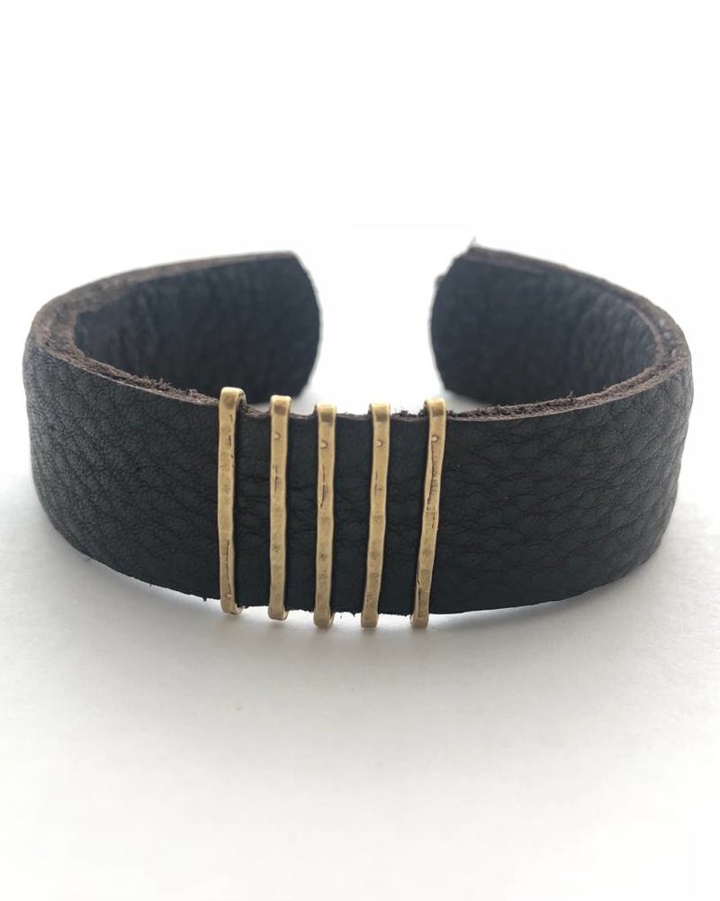 CLP Thin  Leather Cuff