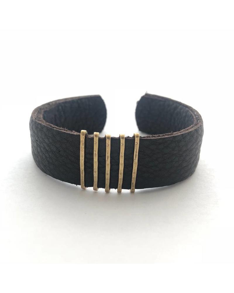 CLP CLP Thin  Leather Cuff