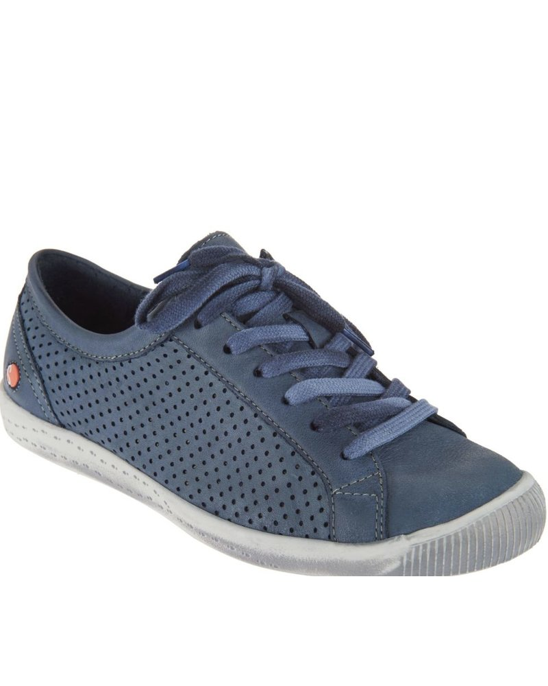 Fly London Softinos Ica Washed Navy Sneaker