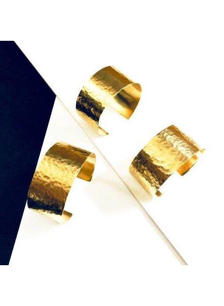 Boho Gal Jewelry BG Hammered Cuff