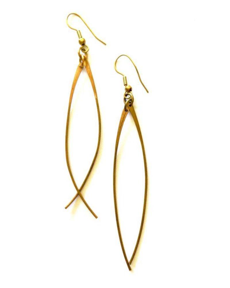 Boho Gal Jewelry BG Spike Earrings