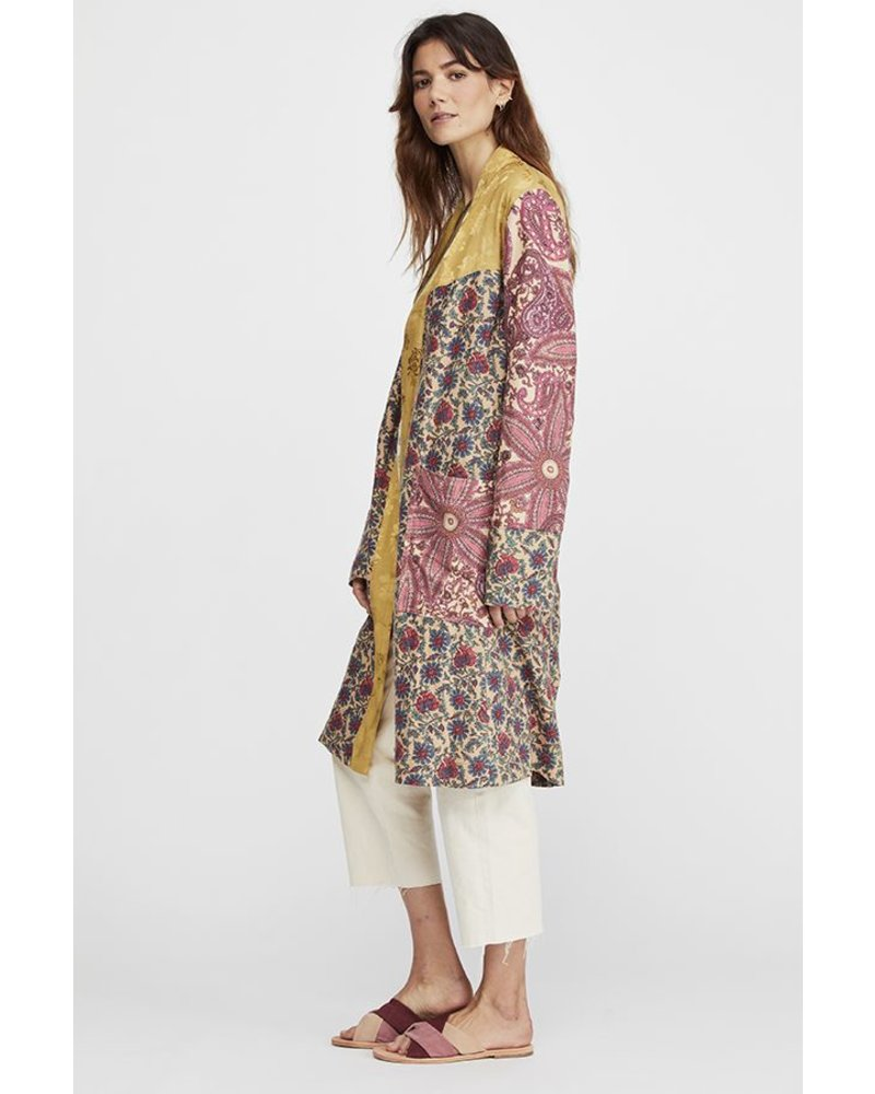 Free People FP Maggie Patched Duster